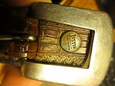 SZ 29-30 SMALL MENS True Vtg 70s Leather JUSTIN SOUTHWESTERN RANGER Western Belt