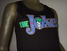 Nwt Juniors Small Black DC Comics The Joker Batman Villain Racer Back Tank Top