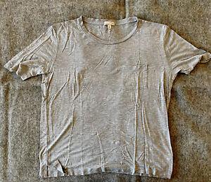 Gap Maternity Women Gray Short Sleeve T-Shirt Size S Maternity
