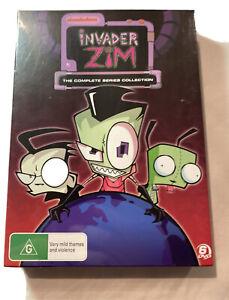Invader Zim Complete Season 1 & 2 (DVD, 2004, 6-Disc Set) New & Sealed Region 4