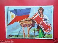 figurines cromos cards figurine sidam gli stati del mondo 2 filippine bandiere j
