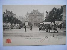 """CPA """"Bruxelles - Place Anneessens"""""""