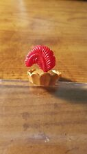Playmobil GOLD CROWN w/RED PLUME from set #3997