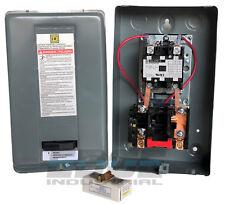 SQUARE D 8911DPSO42V09 Motor Starter,DP,208/240V,2Pole,40A,Open