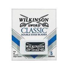 New Wilkinson Sword Double Edge Blades,Fits All Double Edge Razors, 5 Blades