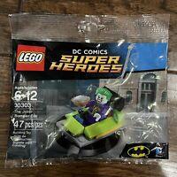 LEGO The Joker Bumper Car (30303) DC Super Heroes Batman Minifigure Polybag New