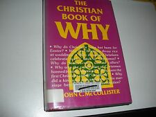 """""""The Christian Book of Why"""" Watchtower research related pagan origins holidays"""