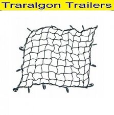 7x5 2134x1524mm Trailer cargo net ute 18 hooks tough elastic stretches ST9