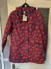 Arctic Storm Padded Waterproof Windproof Coat Marley Pink Floral purple Size 14