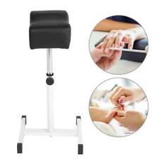 Adjustable Pedicure Foot Rest Seat Best Padded Stand Leg Cushion Salon SPA Stool