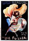 Folies-Bergere Vintage French Nouveau France Poster Print Art