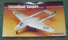 Humbrol Vintage De Havilland Vampire Model Kit 1:72
