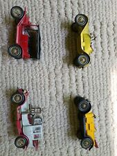 MATCHBOX LESNEY MODELS OF YESTERYEAR Y-1 1911 Modle T Ford + lot of 3 more