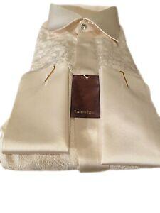 $1200  NWT Stefano Ricci Mens Silk Shirt