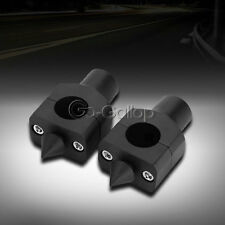 "1"" Black Billet Handlebar Riser Fit Suzuki Intruder Volusia VS 700 750 800 1400"