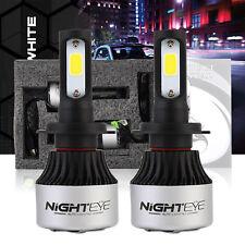 Nighteye LED Headlight Bulbs All-In-One Conversion Kit- H7 Pair 72W 9000LM 6500K