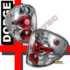 01-06 Dodge Caravan Plymouth Voyager Chrome Tail Lights 1 Pair