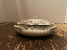 Antique Haviland Limoges Very Ornate Covered Square Casserole Dish 4 Handles