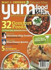 Yum Food And Fun Magazine Comfort Foods Chocolate Chip Cookies Hummus Quiche
