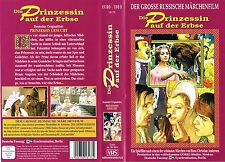 (VHS) Die Prinzessin auf der Erbse - Russischer Märchenklassiker (1976)
