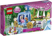 JANUARY 2014 LEGO DISNEY PRINCESS 41053 CINDERELLA'S DREAM CARRIAGE, GREAT GIFT!