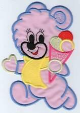 ECUSSON PATCHE THERMOCOLLANT ENFANT NOUNOURS LIONCEAU 15 X 10 CM