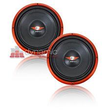"Two (2) Cadence S1W12-D4 Car 12"" DVC 4-ohm Sub Audio Subwoofers 1,800W Sub New"