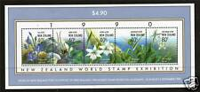 New Zealand 1990 Stamp Exhibition MS SG1547 MNH