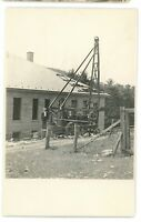 RPPC Keystone Driller Oil Drilling Well? BEAVER FALLS PA Real Photo Postcard