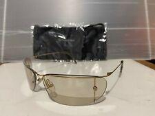 New Calvin Klein CK2049 046 Sunglasses, Lite Gold / Light Bronze mirror Lens