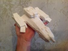 Nostromo spaceship from Alien. 3D-printed. Assembled. Unpainted