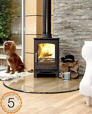 85% Efficent Purefire 5kw Curve Multi-Fuel Woodburning Stove Stoves Log Burner