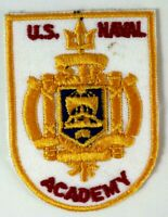 US NAVAL ACADEMY Embroidered Iron/Sew On Patch America Military Souvenir