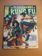 MARVEL: DEADLY HANDS OF KUNG FU #32, 1ST DAUGHTERS OF THE DRAGON, 1974, VF+!!!
