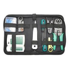 Rj45 Crimping Tool Kit For CAT5/CAT6 Lan Cable Tester Repair Tool  Utp Cable
