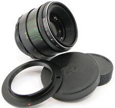 ⭐INFINITY Adapted⭐ HELIOS 44-2 Lens Nikon F Mount D3500 D5600 D7200 D600 D500 Df