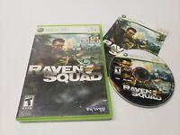 Raven Squad (Microsoft Xbox 360, 2009) Game Complete w/ Manual CIB TESTED