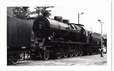 Poland; Steam Locomotive Ty23-104 At Chabówka Shed, 11-6-94 PC Size BW Photo