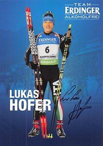 Lukas Hofer - ITA - Olympia 2018 - Biathlon - BRONZE - AK sig. (5)