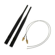 2x IPEX MHF2 to SMA Female Pigtail SMA Male Connector Antenna