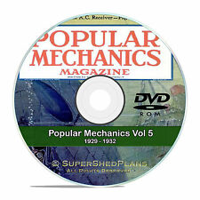 Popular Mechanics Magazine Collection in PDF on DVD, Vol 5, 1929-1932, V15