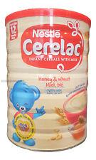 Nestle Cerelac Miel & Trigo Con Leche (400g) De 12 Meses