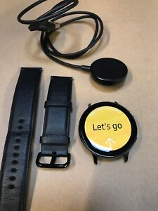 Samsung Galaxy Watch Active 2 44mm Stainless Steel Case Black R825 4G Heart Rate