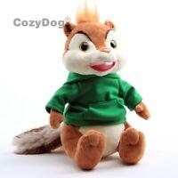 Chipmunks Theodore Plush Toy Soft Stuffed Animal Doll 25cm Kids Birthday Gift