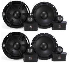 "4) MB Quart 6.5"" 90 Watt Component Speakers Speaker System Set Four| DC1-216"