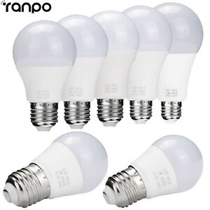 E26 E27 LED Globe Bulb Light 3W 5W 7W 9W 12W 15W 18W Cool Warm White Lamp RK942