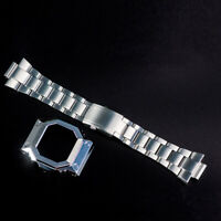 316L Stainless Steel Watch Strap For G-shock GA-110 / GD-100 /120 /GW-9400