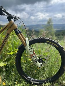 """29"""" Fox 38 Factory Pistachio Heritage Forks. 170mm, Grip2. RARE Limited Edition."""
