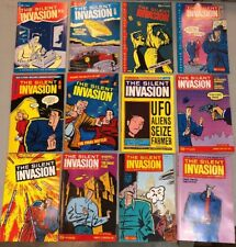 Silent Invasion 1-12 Complete Set Renegade Press Comics Science Fiction Alien