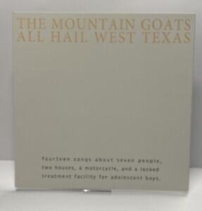 Mountain Goats All Hail West Texas Vinyl Album Record LPNM